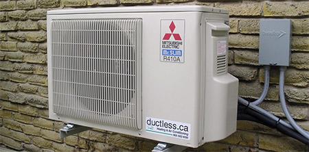 What is a Ductless heat pump AC FAQ