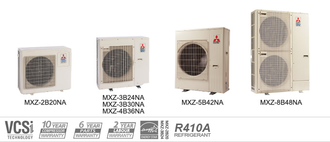 ac air wayne ductless conditioners conditioner fort conditioning mitsubishi