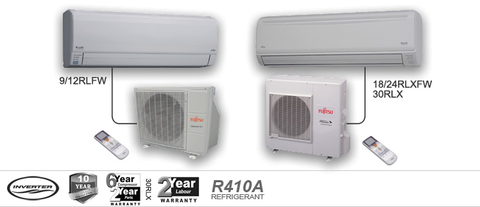 Fujitsu Halcyon Ductless Air Conditioners Amp Heat Pumps In