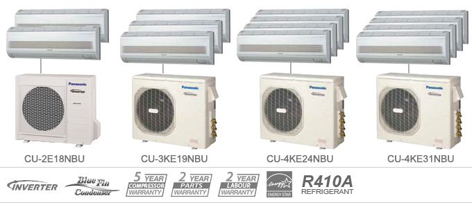 Panasonic Whisper Cool Ductless Air Conditioner Amp Heat