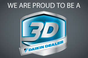 Ductless.ca Inc is a certified Daikin 3D dealer
