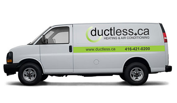 Ductless.ca Truck