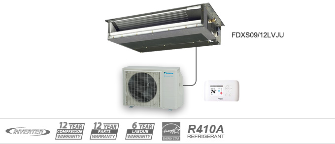 Daikin FDX Series Heat Pumps