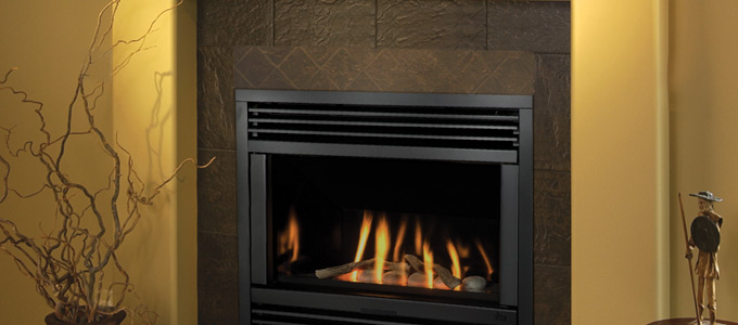 Example of Valor Horizon Series Fireplaces