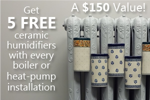 5 free Radiator Humidifiers with every boiler & heat pump installed by  ductless.ca