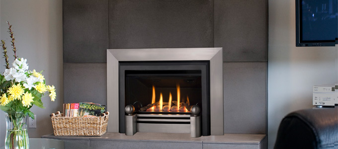 Example of Valor Legend G3 Series Fireplaces