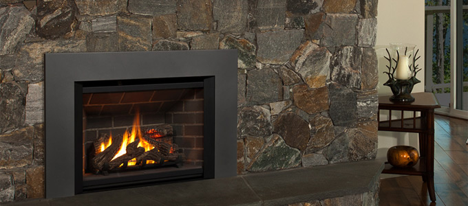 Example of Valor Legend G4 Series fireplaces