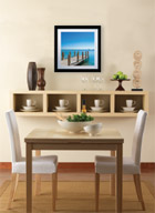 LG Artcool in dining room photo