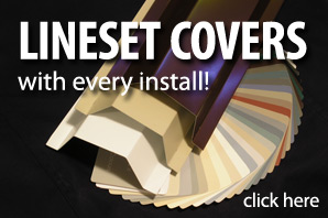 Free AC line-set covers from ductless.ca