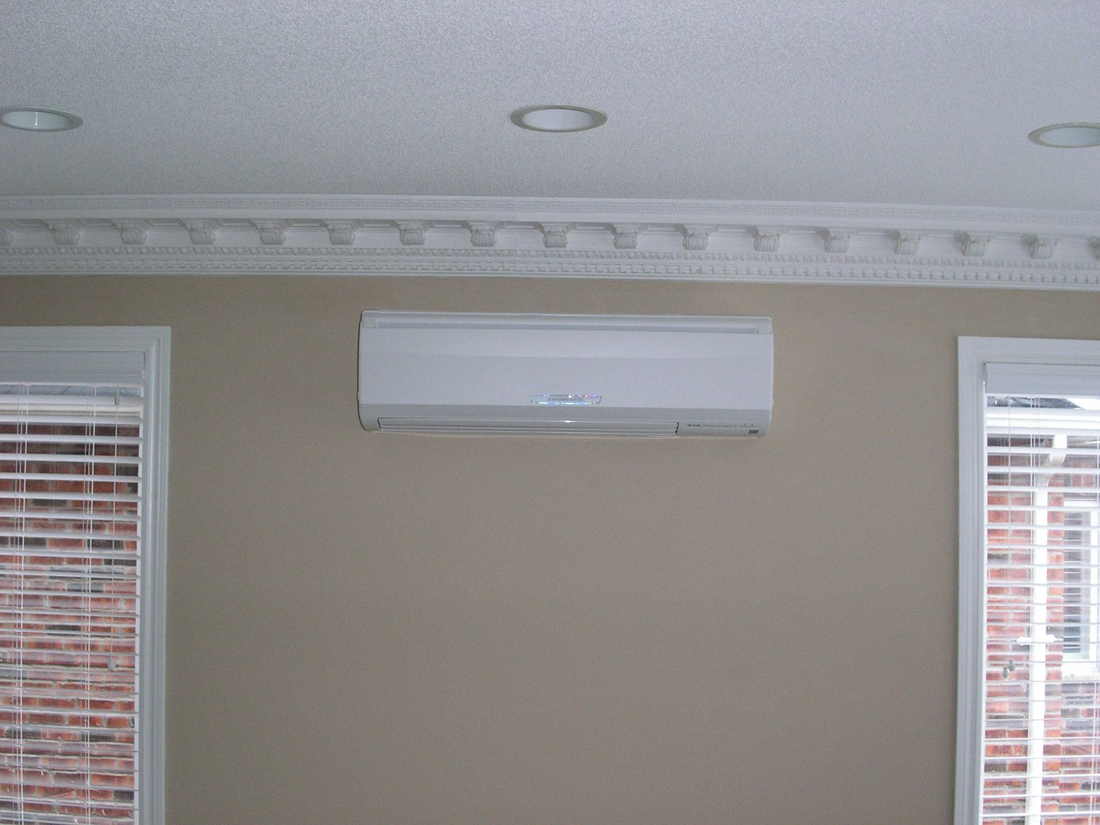 mitsubishi ductless ac system benefits of a split wall blog