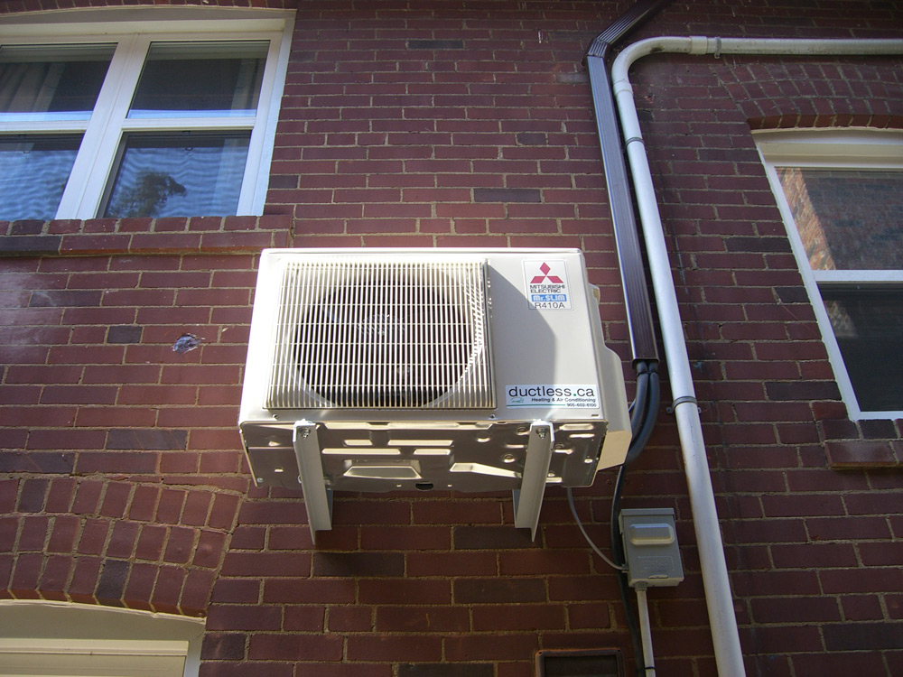 of balcony ductless toronto view ac in installation conditioner series example mits services air on mitsubishi gta conditioners pump home installations m heat