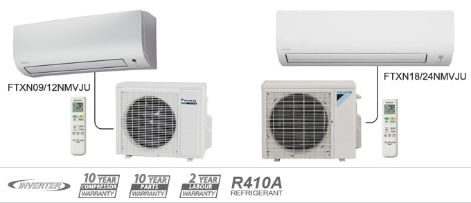 Daikin NM-15 Series heat pumps