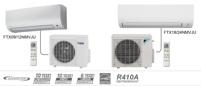 Daikin NM-19 Series heat pumps