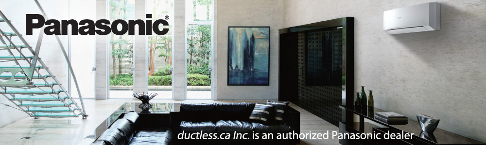 Panasonic Ductless AC in Toronto by Ductless.ca