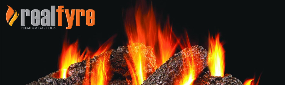 Realfyre premium gas logs in toronto ontario canada by ductless.ca artificial logs