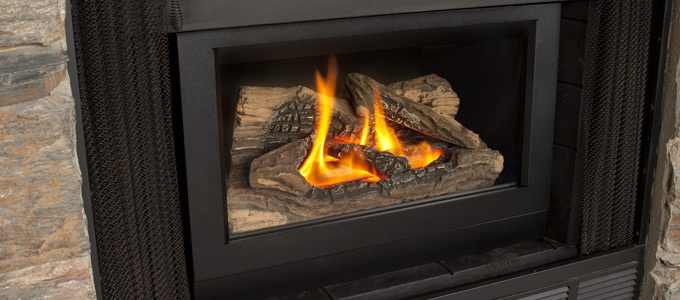 Example of Valor Retrofit Series Fireplaces