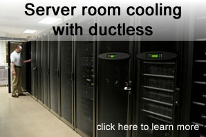 Data Center & Server Room Cooling in Toronto Canada by Ductless.ca