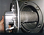 Photo of NTI Trinity combustor