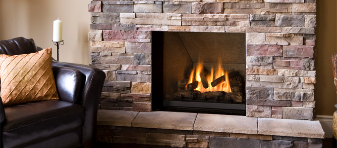 Example of Valor Ventana Series Fireplaces