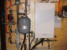 Toronto Boiler Installation by ductless.ca of a Viessman boiler