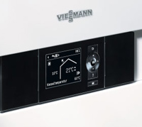 Photo of a Viessmann Vitotronic 200 control unit