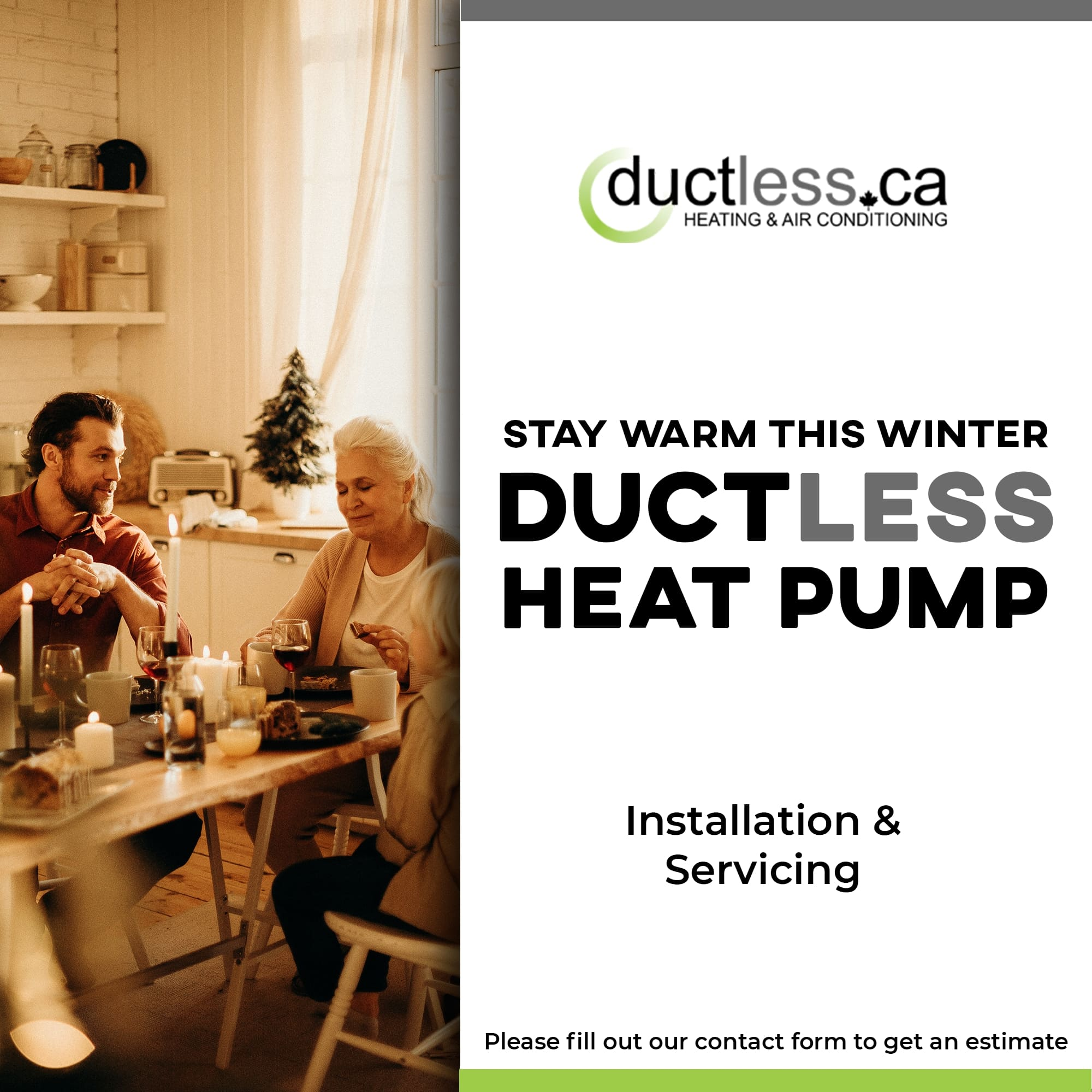 ductless air conditioner Ductless.ca Inc. Toronto HVAC Contractor Ontario