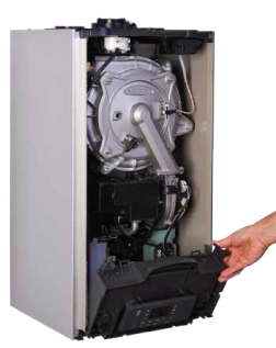 NTI Tx Series Boilers with open front