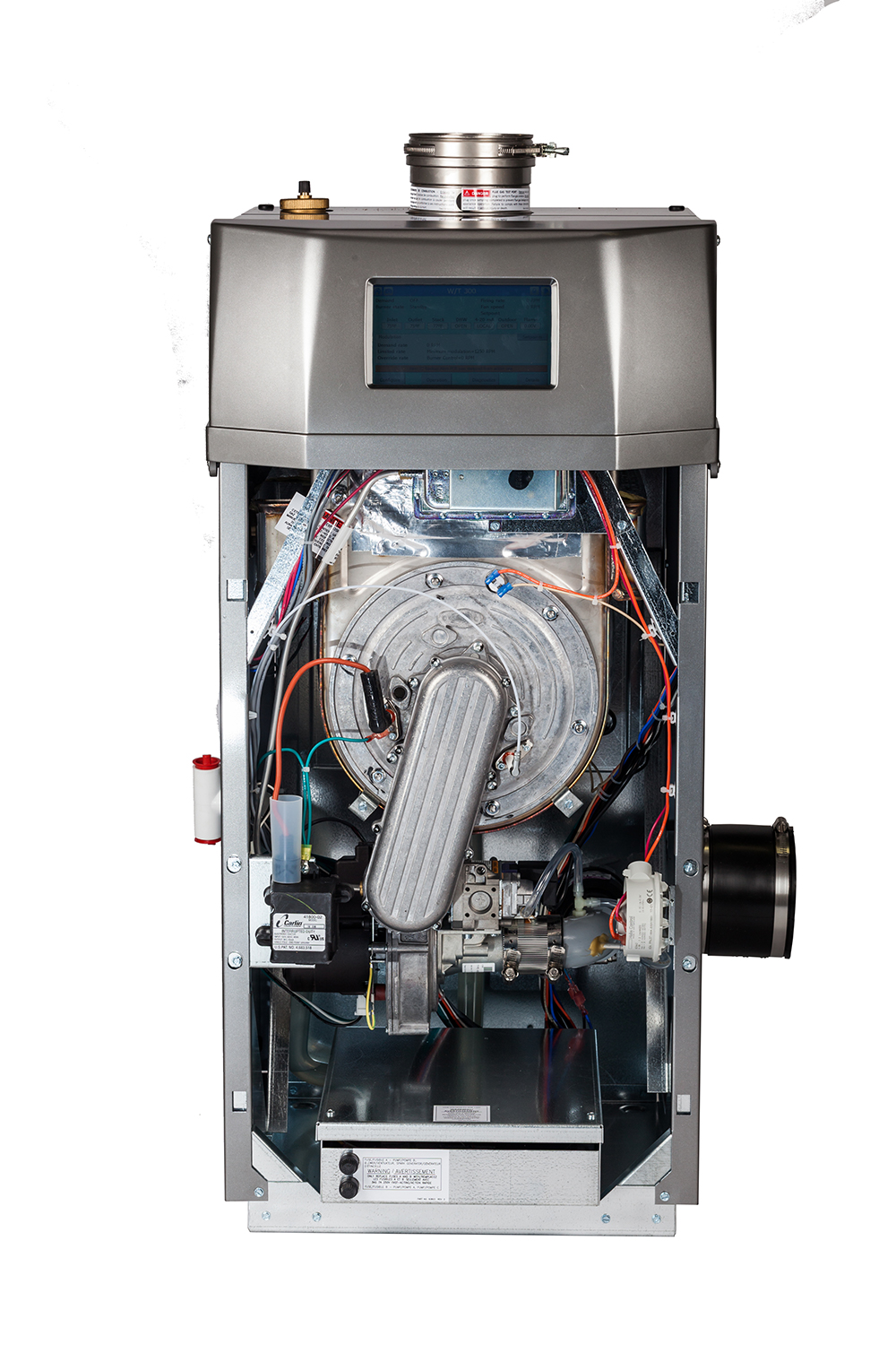 NTI Lx Series Boiler with Open Cover